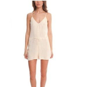 IRO Romper Omalys Embroidered in Natural Size 40 L
